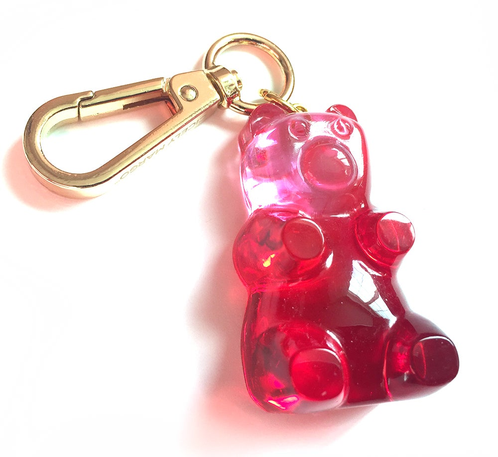 Image of Valentines Gummy Bear Bag Charm