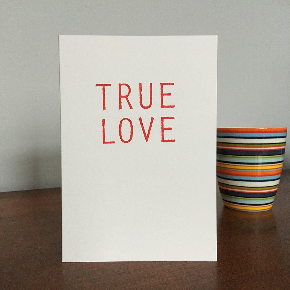 Image of True Love  card