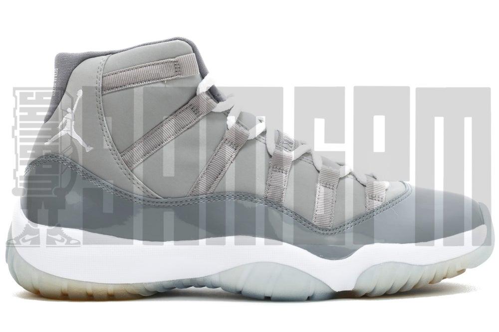 """Image of Nike AIR JORDAN 11 RETRO """"COOL GREY"""""""