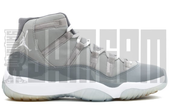 "Image of Nike AIR JORDAN 11 RETRO ""COOL GREY"""