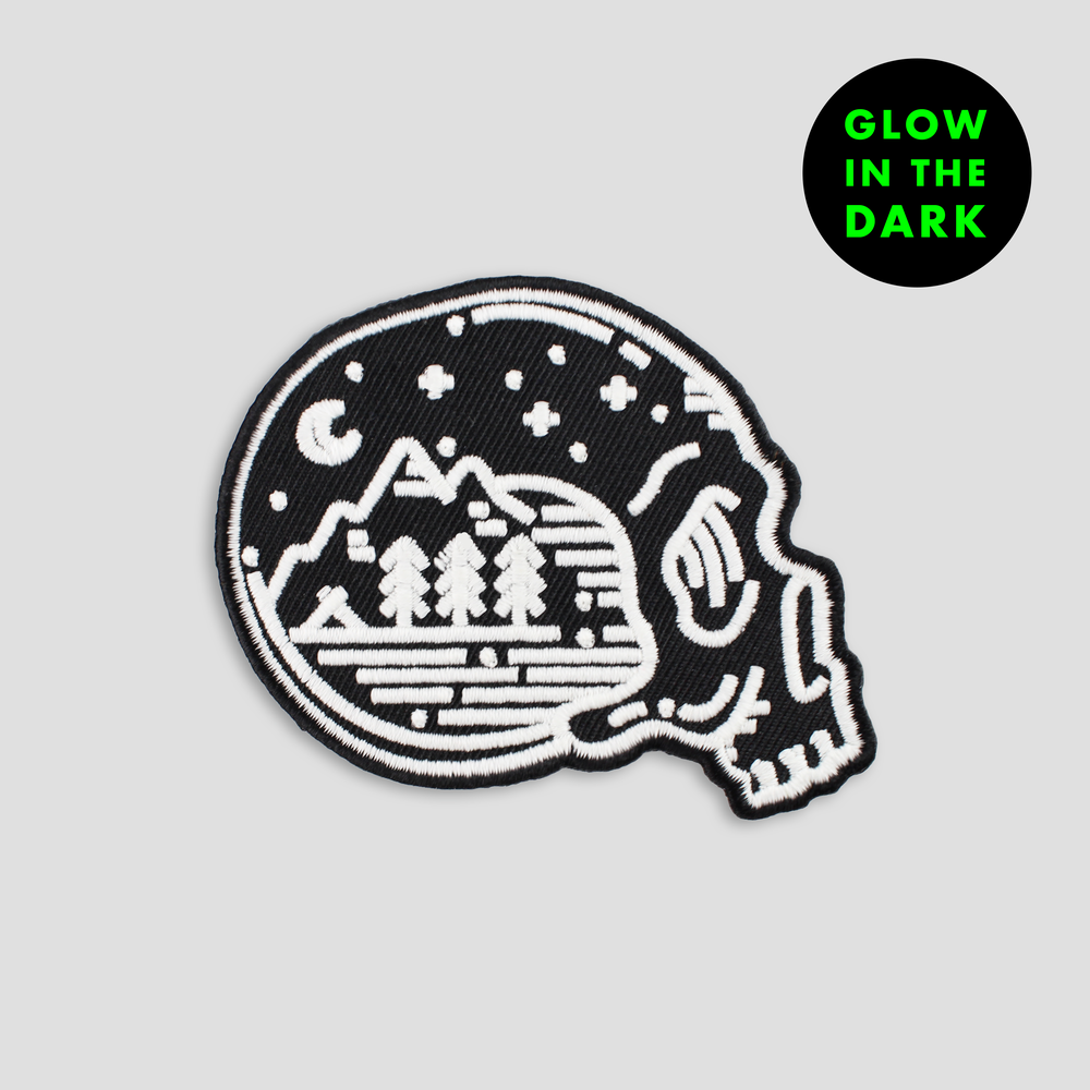 Image of EXPLORE PATCH (GLOW IN THE DARK)