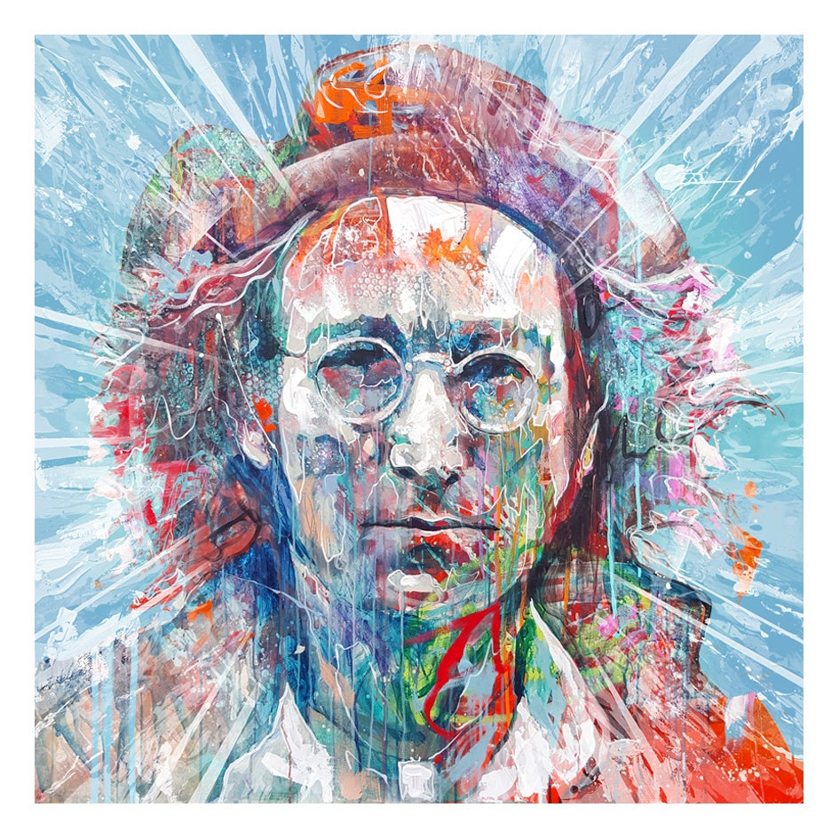"""Image of """"Lennon"""" Open Edition Print - FREE WORLDWIDE SHIPPING!!!"""