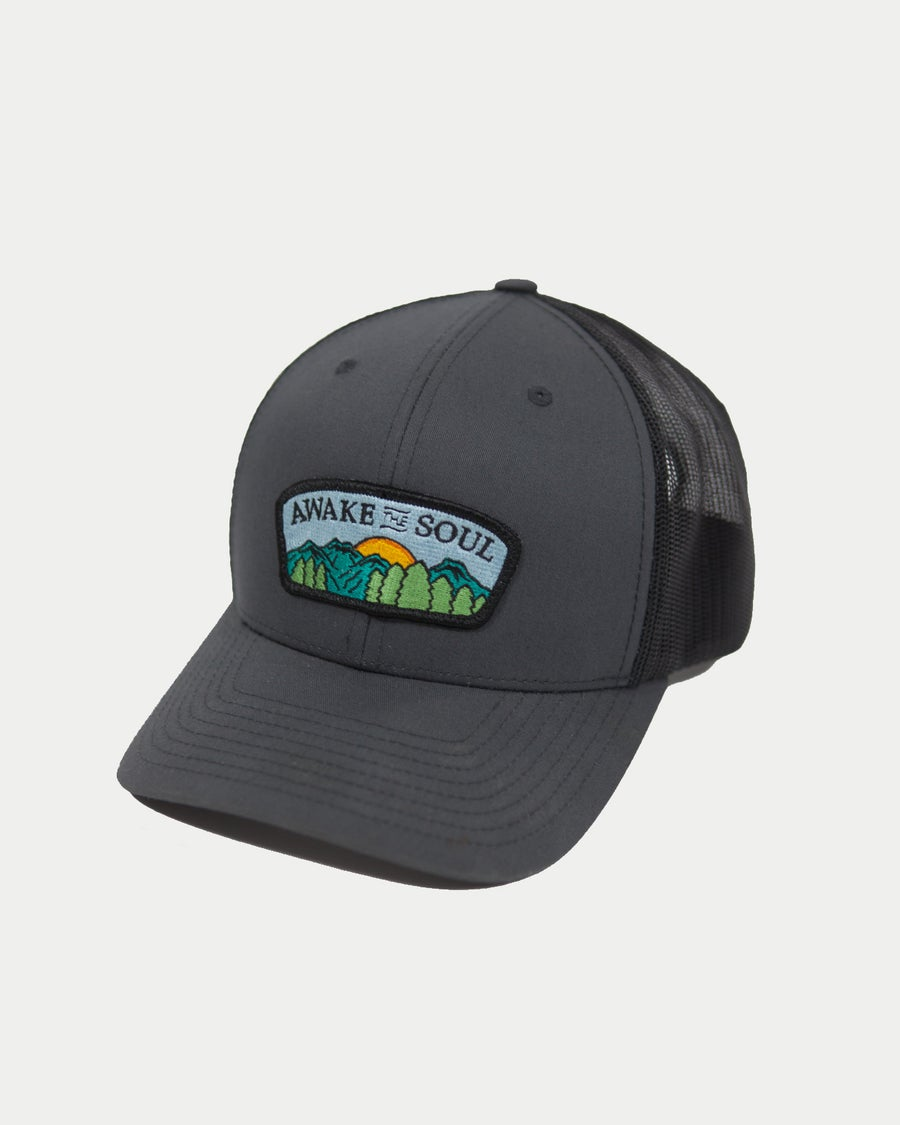 Image of Horizon Trucker Hat (Charcoal)