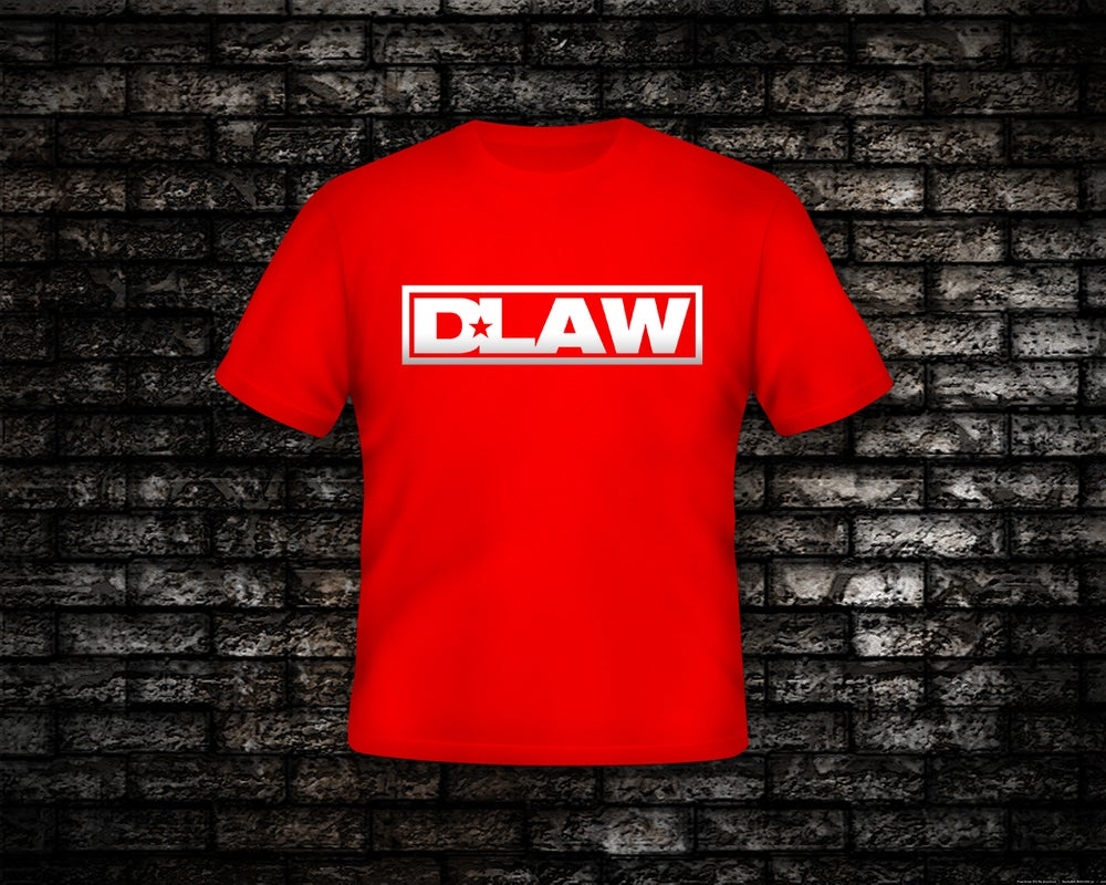 Image of D-Law Logo Graphic T