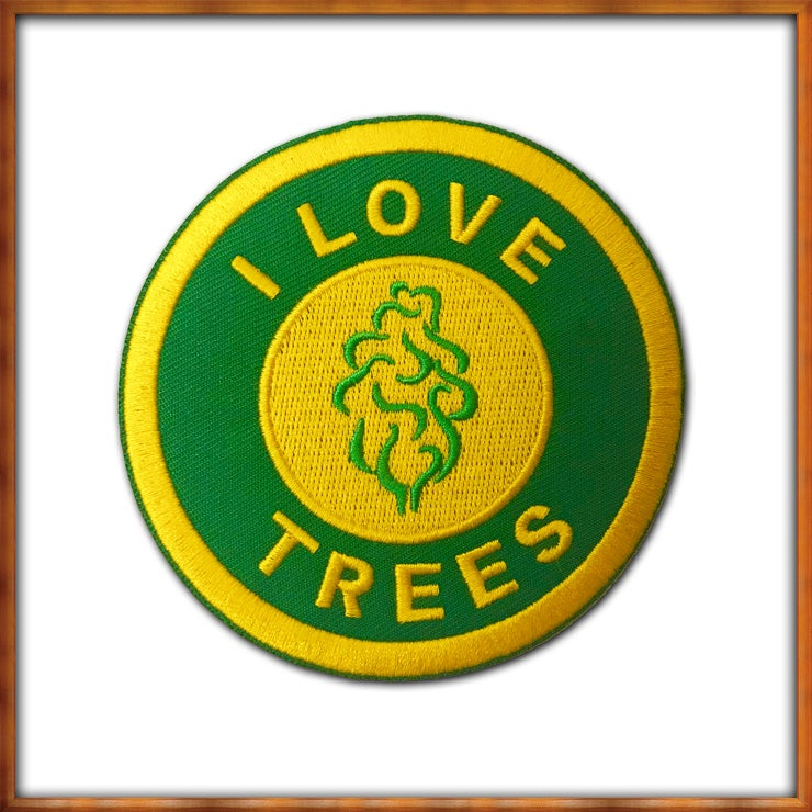 Image of I Love Trees Patch
