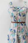 Image of SOLD Vintage Wallpaper Gaucho Pant Sundress