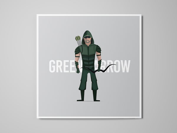 Image of Green Arrow - Print