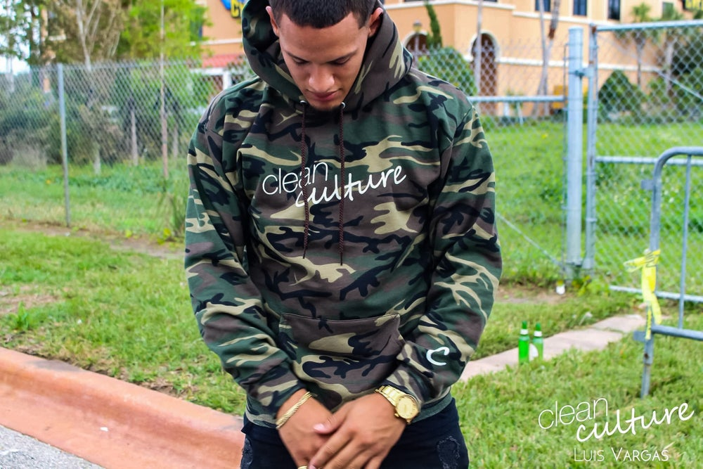 Image of Classic Hoodie (Camo) LIMITED EDITION