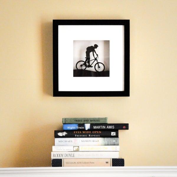 Image of Framed Mountain Bike Scene
