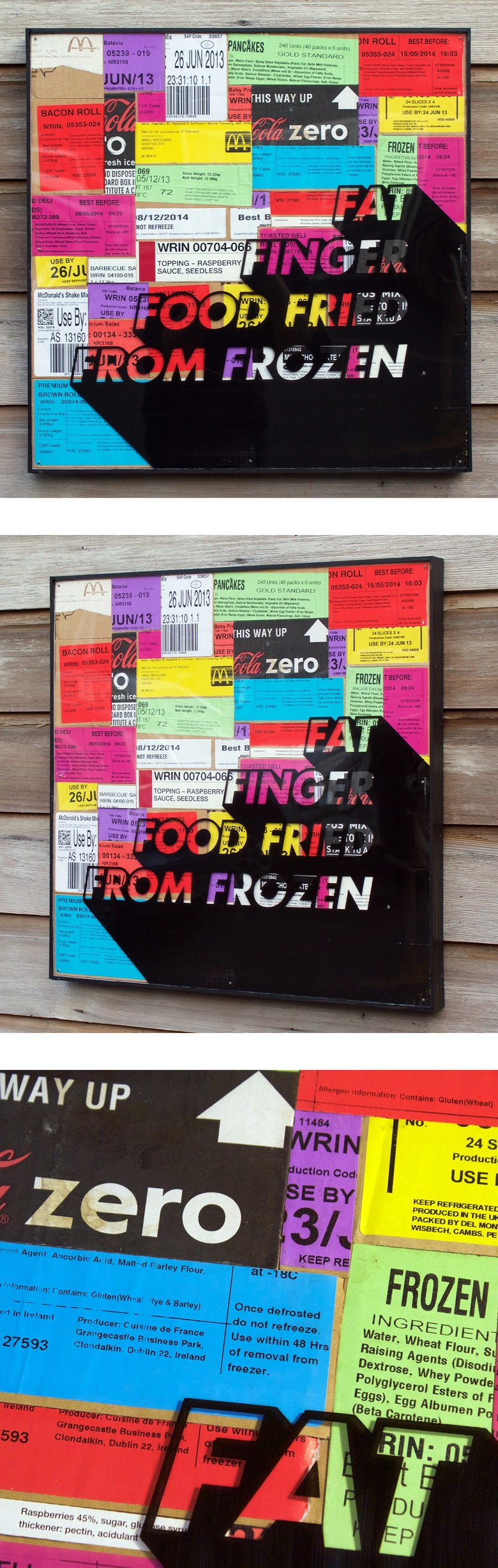 Image of Fat Finger Food Fried From Frozen