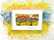 """Image of """"Quiet Time"""" Original Watercolor Painting"""