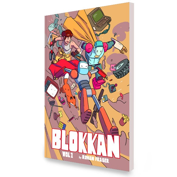 Image of Blokkan: Robot Stories Graphic Novel