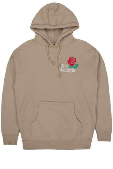 Image of THE HUNDREDS - BIG ROSE PULLOVER (SANDSTONE)