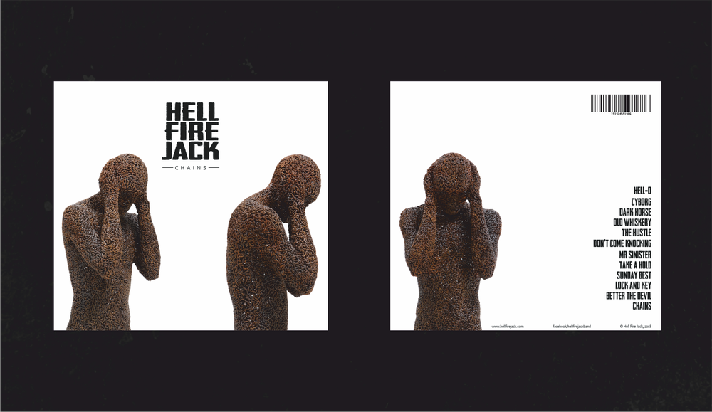 Image of Hell Fire Jack 'Chains' Album