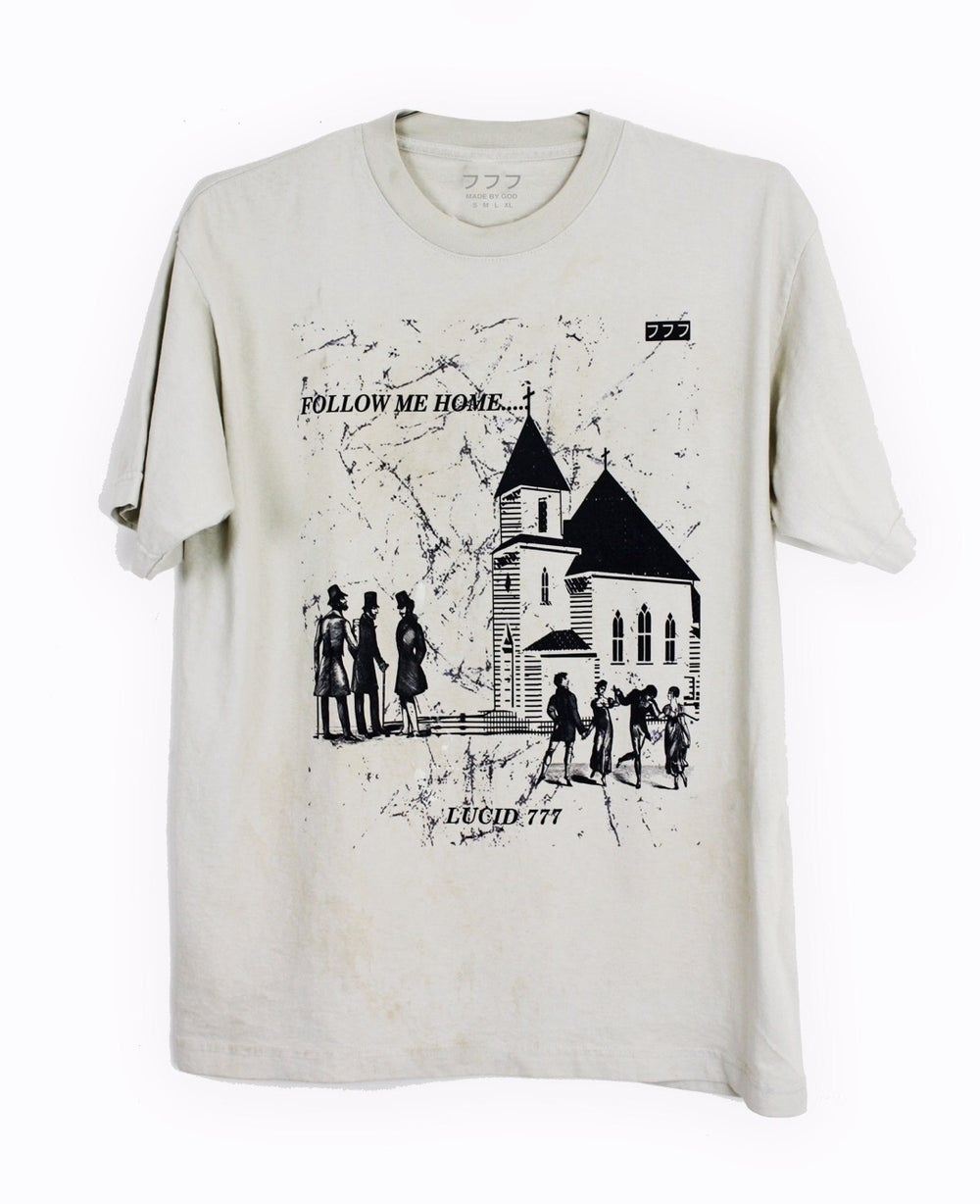 Image of CHURCH & STATE TEE - CEMENT