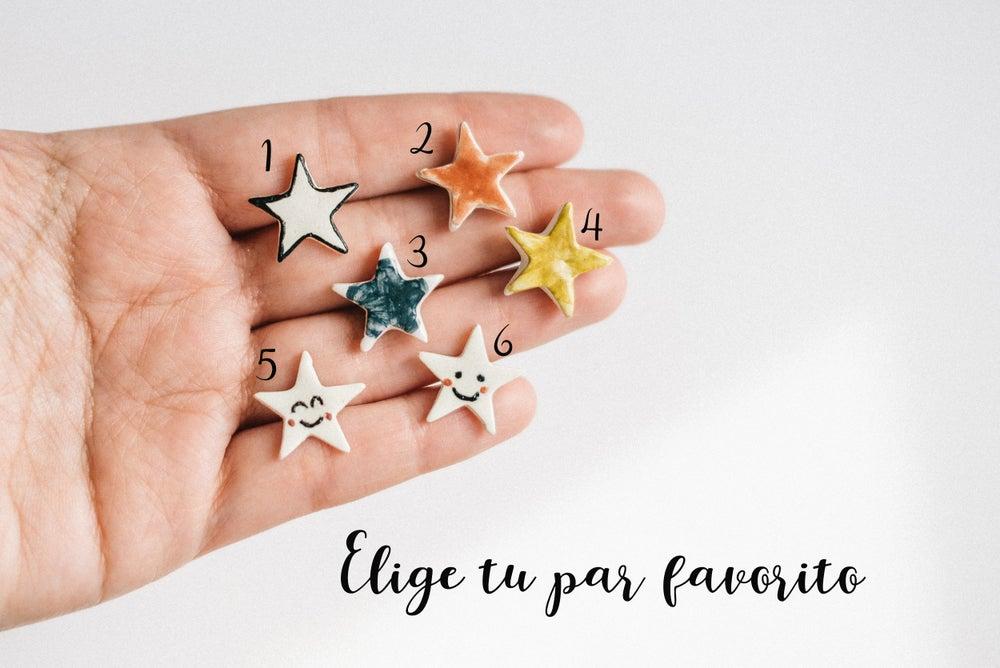 Image of Pendientes Estrellas
