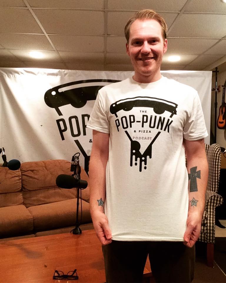 Image of Pop-Punk & Pizza Podcast T-Shirt!