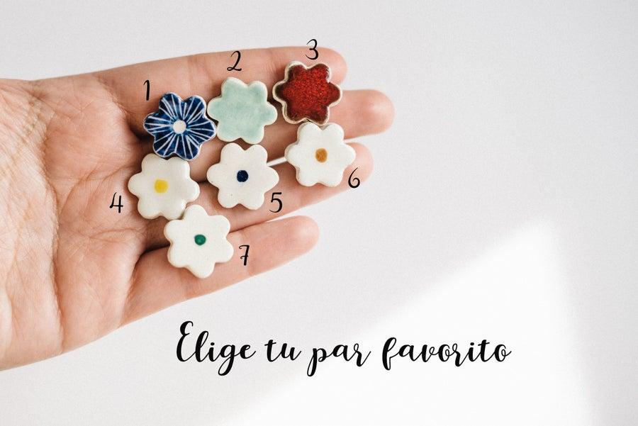 Image of Pendientes Flor