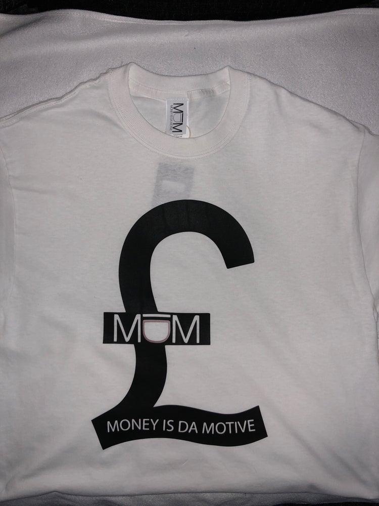 Image of MIDM White/Black £ Tee