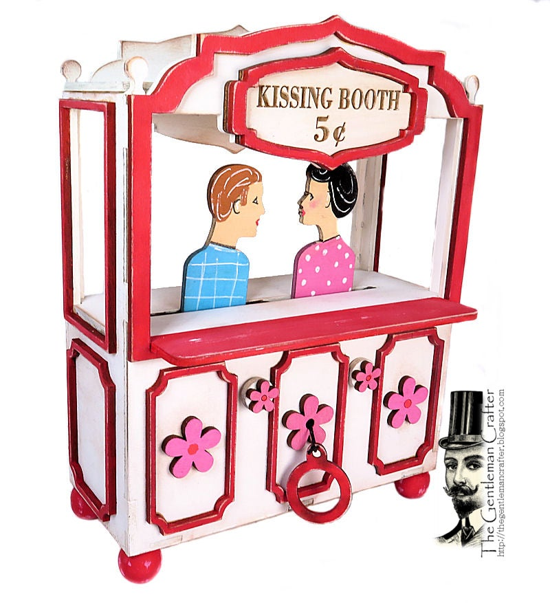 Image of Vintage Kissing Booth