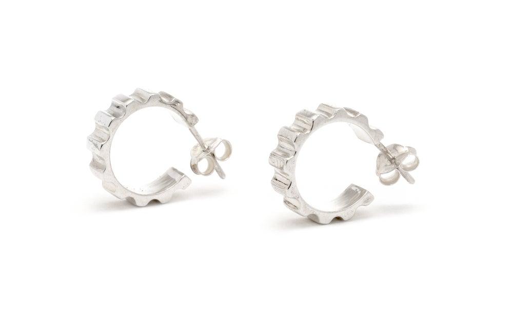 Image of Parmentier hoop earrings