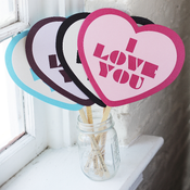 Image of I Love You Props