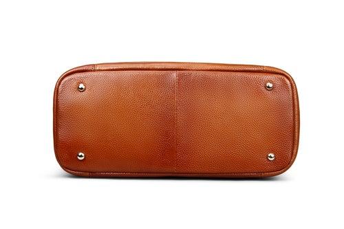 Image of 3 Colors Women's Leather Shoulder Handbags Large Capacity Totes Work Satchel Designer Purses SL9202