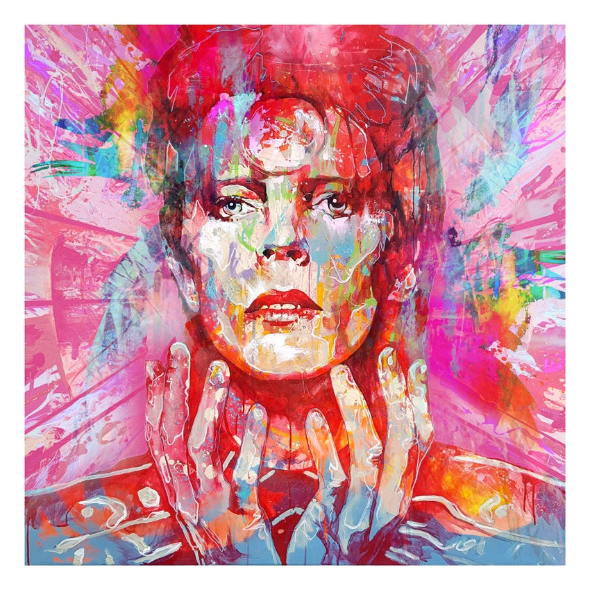"Image of ""Bowie"" OPEN EDITION PRINT - FREE WORLDWIDE SHIPPING!!!"