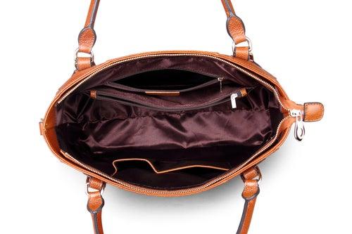 Image of 4 Colors Handmade Women Top Handle Handbags Satchel Shoulder Bag for Lady Purse Tote Bag SL9290