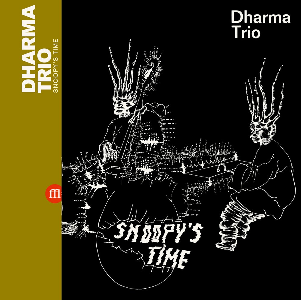 Image of DHARMA TRIO - Snoopy's Time (FFL039) PRE-ORDER
