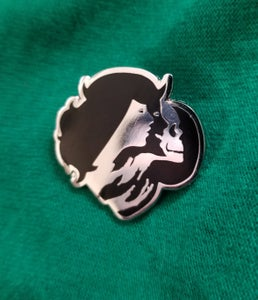 "Image of VICES ""LOGO"" Lapel Pin"