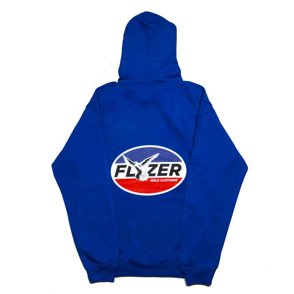 Image of LIMITED EDITION - Hoodie Royal blue FLZ