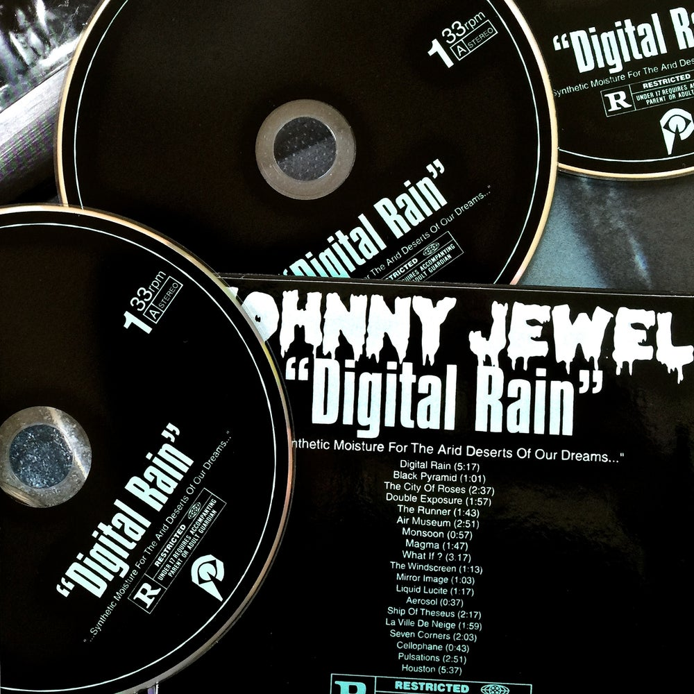 "Image of JOHNNY JEWEL ""Digital Rain"" Compact Disc"