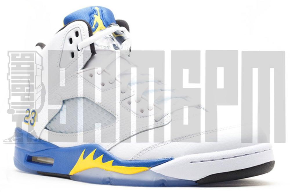 "Image of Nike AIR JORDAN 5 RETRO ""LANEY"""