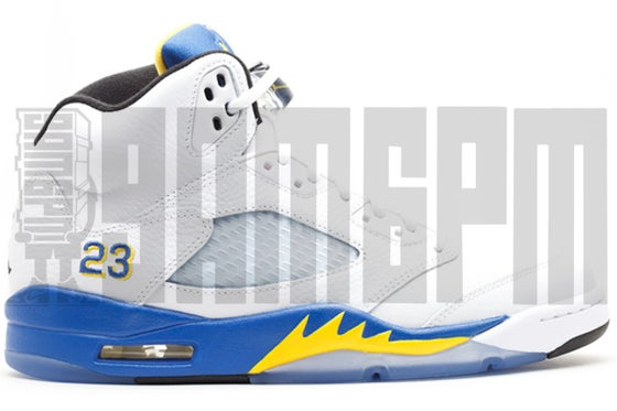 "Image of Nike AIR JORDAN 5 RETRO ""LANEY"""