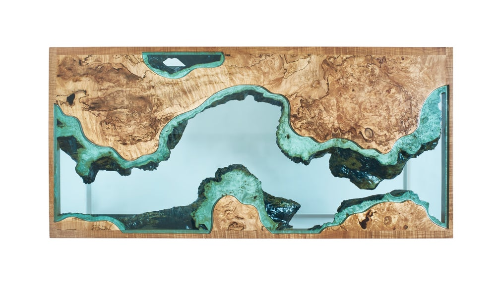 Image of Aerial Series River Coffee Table No.1