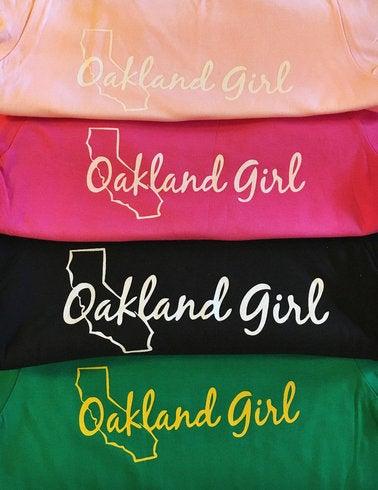Image of Oakland Girl Kids TShirt