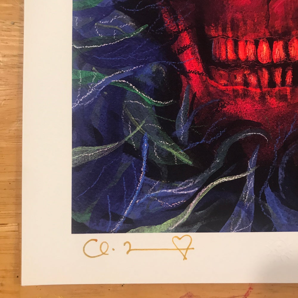 "Image of ""Bad Circuitry (Bad Ivy)"" 8.5""x11"" Limited Fine Art Print"