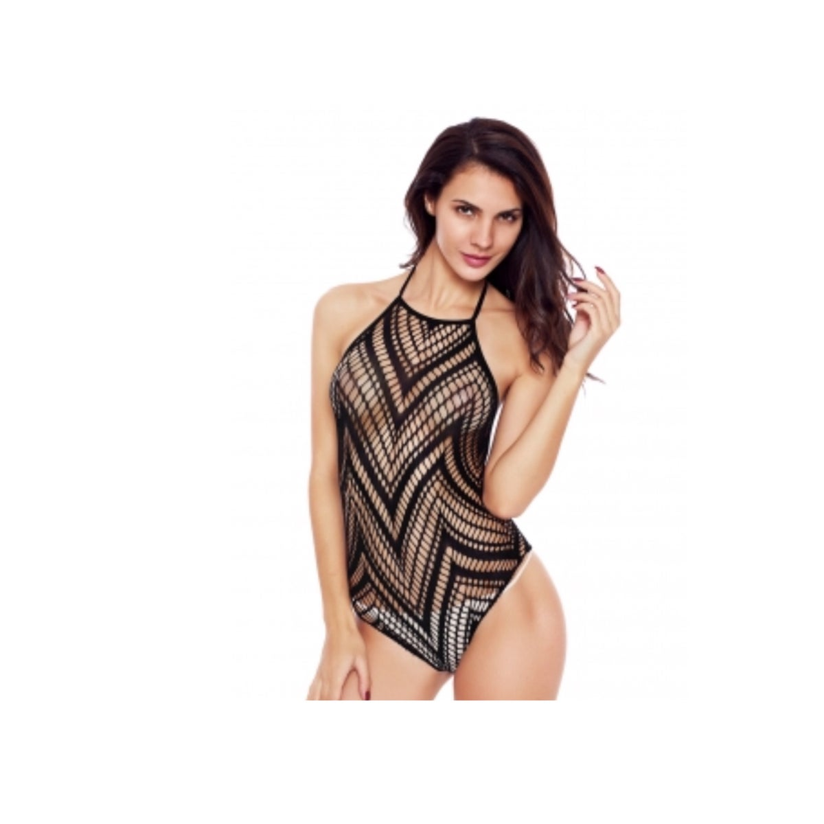 Image of Netted Halter Teddy