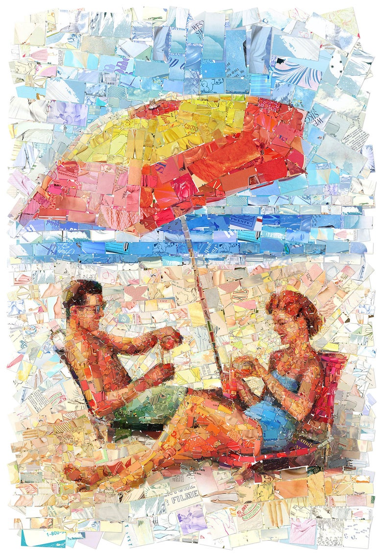 "Image of ENDLESS SUMMER ""Umbrella"" (Limited edition fine art prints)"