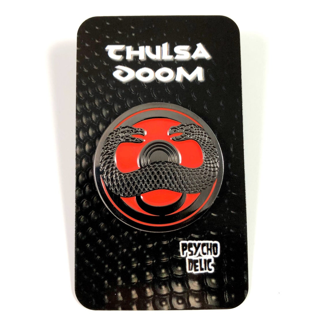 Image of Thulsa Doom Pin (Lakes Of Blood Edition)