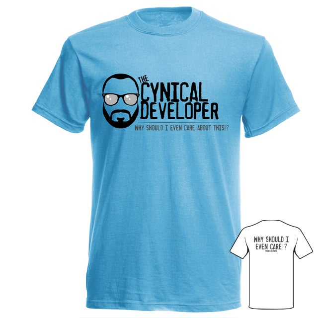 Image of Classic T-Shirt (cynical blue)