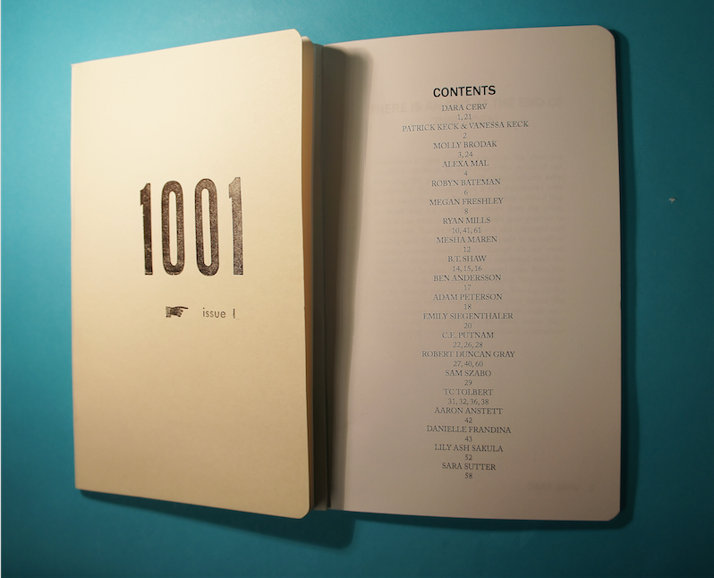 Image of 1001 Literary Journal