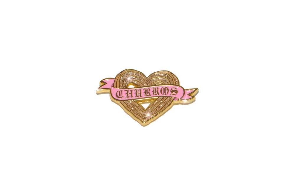 Image of Churro Heart Pin