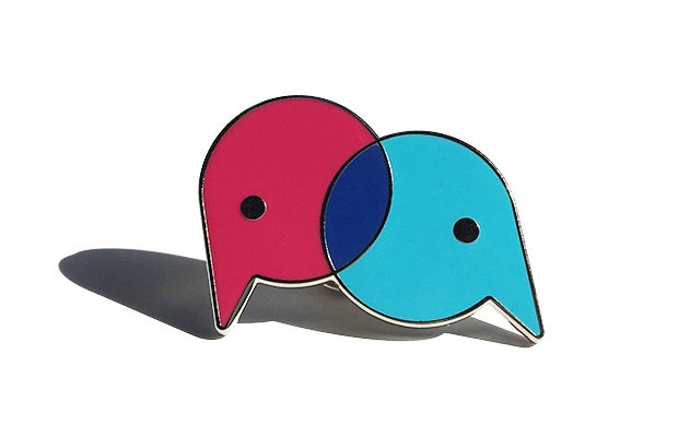 Image of Webfriends Enamel Pin