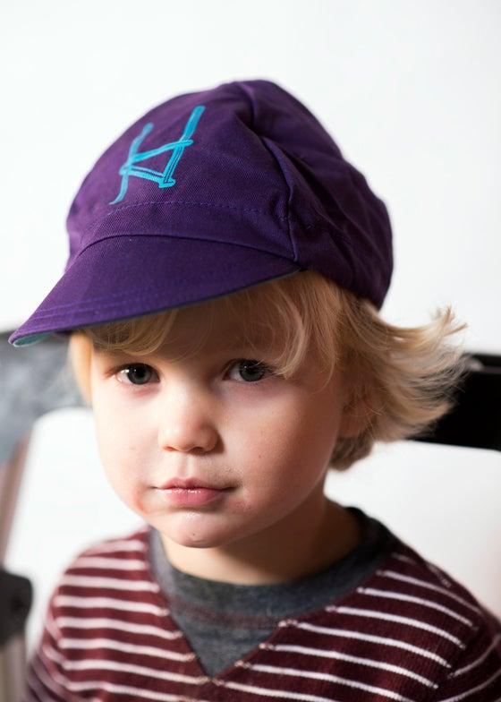 Image of Halcyon Cycling Cap, Purple