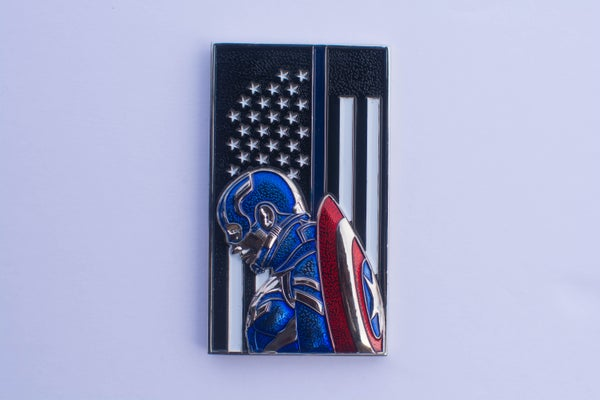 Image of Captain America Challenge Coin - Limited Edition