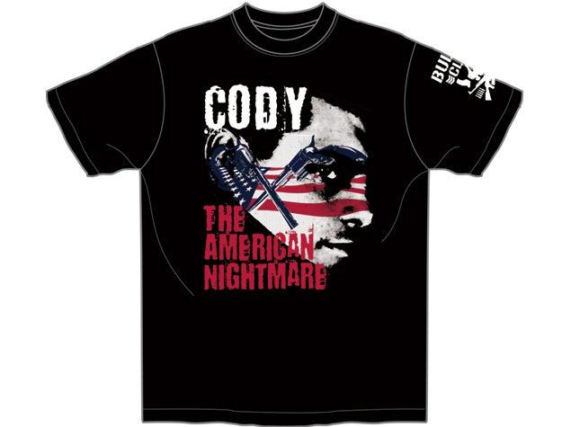 Image of Cody Rhodes 'CODY - AMERICAN NIGHTMARE' T-Shirt