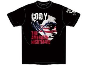 Image of Cody Rhodes 'CODY - AMERICAN NIGHTMARE' T-Shirt