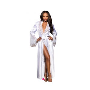 Image of Silk Glamour Long Robes